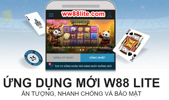 Hình ảnh w88lite club in Tải w88 lite apk / W88 apk download android link vao w88